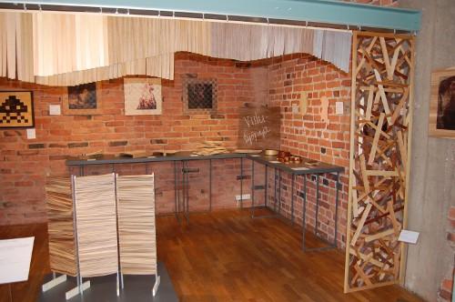 design viilutyöpajan näyttely